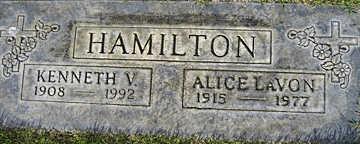 HAMILTON, KENNETH V - Mohave County, Arizona   KENNETH V HAMILTON - Arizona Gravestone Photos