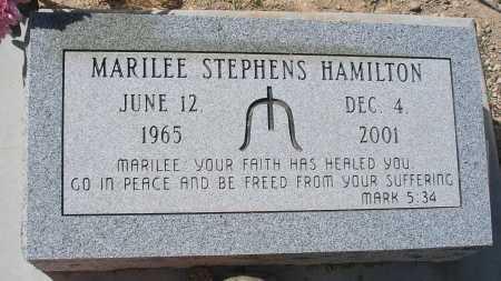 STEPHENS HAMILTON, MARILEE - Mohave County, Arizona | MARILEE STEPHENS HAMILTON - Arizona Gravestone Photos