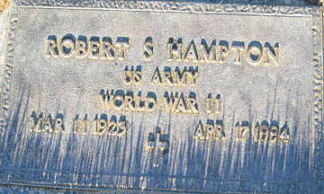 HAMPTON, ROBERT S - Mohave County, Arizona | ROBERT S HAMPTON - Arizona Gravestone Photos