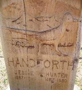 HANDFORTH, JESSIE - Mohave County, Arizona | JESSIE HANDFORTH - Arizona Gravestone Photos