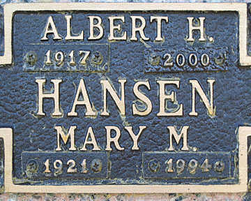 HANSEN, MARY M - Mohave County, Arizona | MARY M HANSEN - Arizona Gravestone Photos