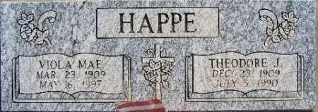 HAPPE, THEODORE J - Mohave County, Arizona | THEODORE J HAPPE - Arizona Gravestone Photos