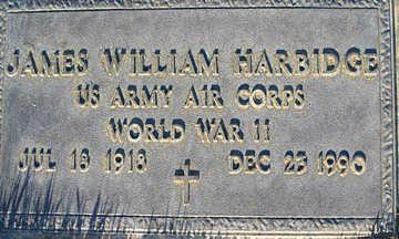 HARDBIDGE, JAMES WILLIAM - Mohave County, Arizona | JAMES WILLIAM HARDBIDGE - Arizona Gravestone Photos