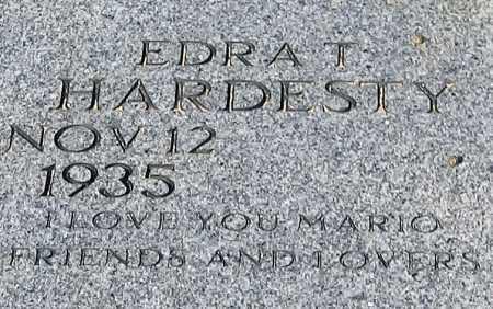 HARDESTY, EDRA T - Mohave County, Arizona   EDRA T HARDESTY - Arizona Gravestone Photos