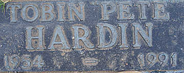 HARDIN, TOBIN - Mohave County, Arizona | TOBIN HARDIN - Arizona Gravestone Photos
