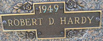HARDY, ROBERT D - Mohave County, Arizona   ROBERT D HARDY - Arizona Gravestone Photos
