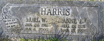 HARRIS, ANNE L - Mohave County, Arizona | ANNE L HARRIS - Arizona Gravestone Photos