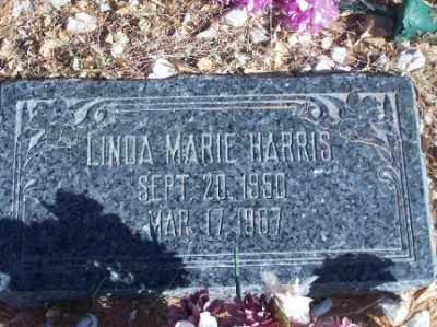 HARRIS, LINDA MARIE - Mohave County, Arizona   LINDA MARIE HARRIS - Arizona Gravestone Photos
