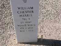 HARRIS, WILLIAM CHESTER - Mohave County, Arizona | WILLIAM CHESTER HARRIS - Arizona Gravestone Photos