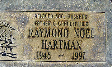 HARTMAN, RAYMOND NOEL - Mohave County, Arizona | RAYMOND NOEL HARTMAN - Arizona Gravestone Photos