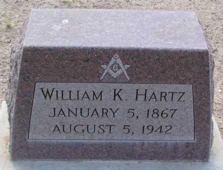 HARTZ, WILLIAM K. - Mohave County, Arizona | WILLIAM K. HARTZ - Arizona Gravestone Photos