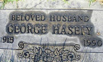 HASELY, GEORGE - Mohave County, Arizona   GEORGE HASELY - Arizona Gravestone Photos