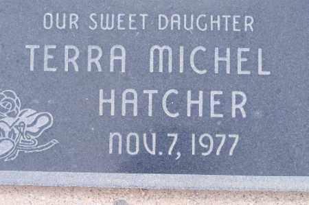 HATCHER, TERRA MICHEL - Mohave County, Arizona | TERRA MICHEL HATCHER - Arizona Gravestone Photos