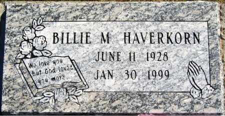HAVERKORN, BILLIE M - Mohave County, Arizona | BILLIE M HAVERKORN - Arizona Gravestone Photos