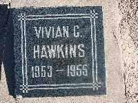 HAWKINS, VIVAN CLYDENE - Mohave County, Arizona | VIVAN CLYDENE HAWKINS - Arizona Gravestone Photos
