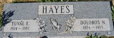 HAYES, EUVAL E - Mohave County, Arizona | EUVAL E HAYES - Arizona Gravestone Photos