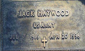 HAYWOOD, JACK - Mohave County, Arizona | JACK HAYWOOD - Arizona Gravestone Photos