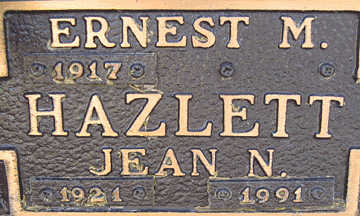HAZLETT, ERNEST M - Mohave County, Arizona   ERNEST M HAZLETT - Arizona Gravestone Photos
