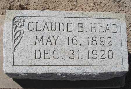 HEAD, CLAUDE B. - Mohave County, Arizona | CLAUDE B. HEAD - Arizona Gravestone Photos