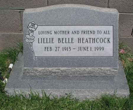 HEATHCOCK, LILLIE BELLE - Mohave County, Arizona | LILLIE BELLE HEATHCOCK - Arizona Gravestone Photos