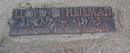 HEILMAN, LLOYD D. - Mohave County, Arizona | LLOYD D. HEILMAN - Arizona Gravestone Photos