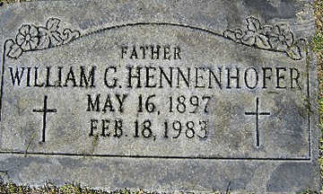 HENNENHOFER, WILLIAM G - Mohave County, Arizona | WILLIAM G HENNENHOFER - Arizona Gravestone Photos