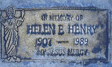 HENRY, HELEN E - Mohave County, Arizona | HELEN E HENRY - Arizona Gravestone Photos