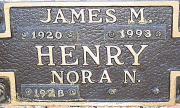 HENRY, NORA N - Mohave County, Arizona | NORA N HENRY - Arizona Gravestone Photos
