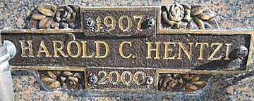 HENTZI, HAROLD C - Mohave County, Arizona | HAROLD C HENTZI - Arizona Gravestone Photos