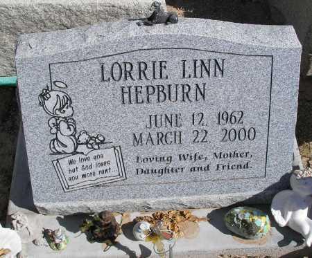 HEPBURN, LORRIE LINN - Mohave County, Arizona | LORRIE LINN HEPBURN - Arizona Gravestone Photos
