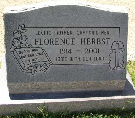 HERBST, FLORENCE - Mohave County, Arizona | FLORENCE HERBST - Arizona Gravestone Photos