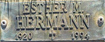HERMANN, ESTHER M - Mohave County, Arizona | ESTHER M HERMANN - Arizona Gravestone Photos