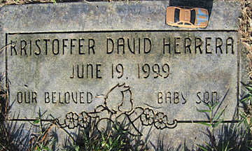 HERRERA, KRISTOFFER DAVID - Mohave County, Arizona | KRISTOFFER DAVID HERRERA - Arizona Gravestone Photos