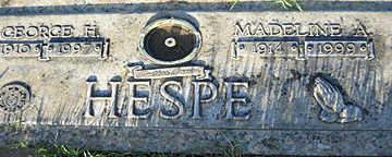 HESPE, MADELINE A - Mohave County, Arizona | MADELINE A HESPE - Arizona Gravestone Photos