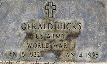 HICKS, GERALD - Mohave County, Arizona | GERALD HICKS - Arizona Gravestone Photos