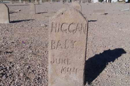HIGGAN, (BABY) - Mohave County, Arizona | (BABY) HIGGAN - Arizona Gravestone Photos