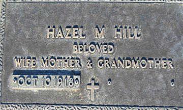 HILL, HAZEL M - Mohave County, Arizona | HAZEL M HILL - Arizona Gravestone Photos