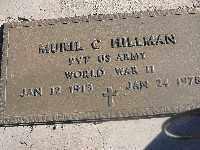 HILLMAN, MURIL C - Mohave County, Arizona | MURIL C HILLMAN - Arizona Gravestone Photos