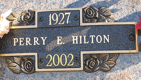 HILTON, PERRY E - Mohave County, Arizona   PERRY E HILTON - Arizona Gravestone Photos
