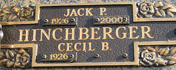 HINCHBERGER, JACK P - Mohave County, Arizona | JACK P HINCHBERGER - Arizona Gravestone Photos