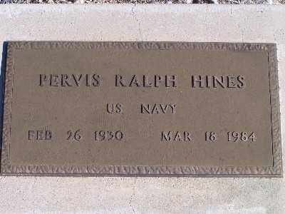 HINES, PERVIS RALPH - Mohave County, Arizona | PERVIS RALPH HINES - Arizona Gravestone Photos