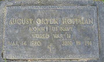 HOFFMAN, AUGUST ORTEN - Mohave County, Arizona | AUGUST ORTEN HOFFMAN - Arizona Gravestone Photos