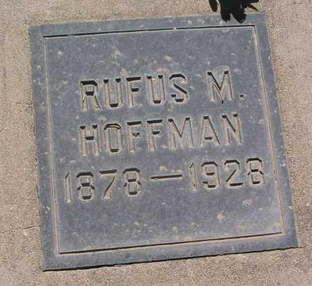 HOFFMAN, RUFUS M. - Mohave County, Arizona   RUFUS M. HOFFMAN - Arizona Gravestone Photos