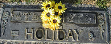 HOLIDAY, NELLIE M - Mohave County, Arizona | NELLIE M HOLIDAY - Arizona Gravestone Photos
