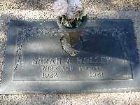 HOLLEY, SARAH A - Mohave County, Arizona   SARAH A HOLLEY - Arizona Gravestone Photos