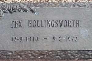 HOLLINGSWORTH, TEX - Mohave County, Arizona | TEX HOLLINGSWORTH - Arizona Gravestone Photos