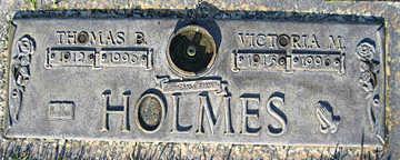 HOLMES, THOMAS B - Mohave County, Arizona | THOMAS B HOLMES - Arizona Gravestone Photos