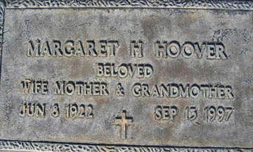HOOVER, MARGARET H - Mohave County, Arizona | MARGARET H HOOVER - Arizona Gravestone Photos