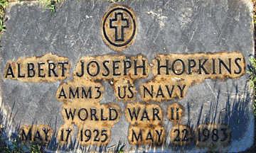 HOPKINS, ALBERT JOSEPH - Mohave County, Arizona | ALBERT JOSEPH HOPKINS - Arizona Gravestone Photos