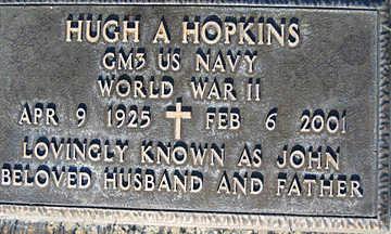 HOPKINS, HUGH A - Mohave County, Arizona   HUGH A HOPKINS - Arizona Gravestone Photos